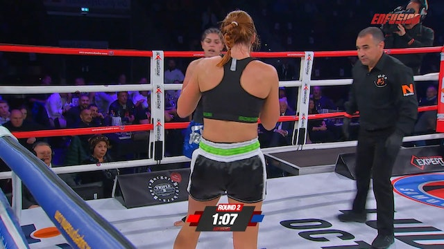 Enfusion #54 Deniz Batinli (TUR) vs Johanna Kruse (DUE) 07.10.2017