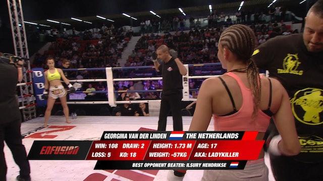 Enfusion #67 Georgina van der Linden (NLD) vs Rita Carvalho (PRT) 12.05.2018