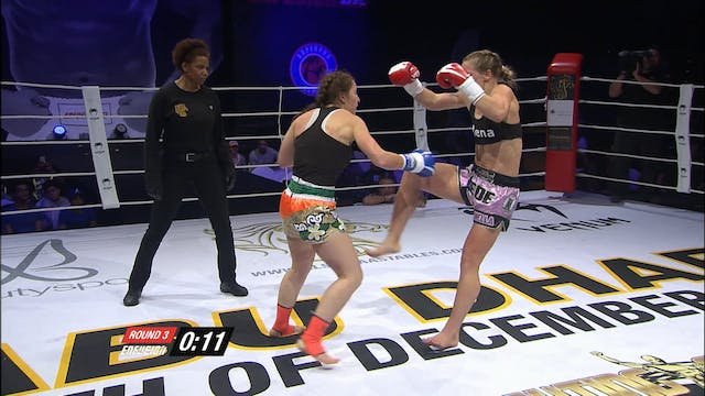 Enfusion #45 Aleide Lawant (NLD) vs M...