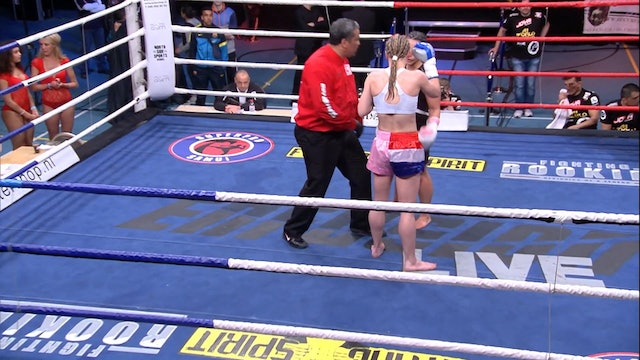 Enfusion  #05 Hatice Ozyurt (TUR) vs Aleide Lawant (NLD)11.05.2013