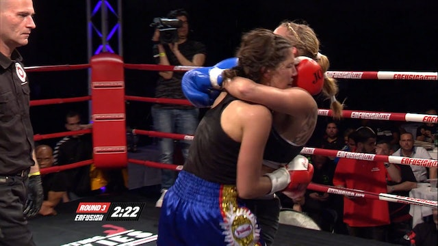 Enfusion #16  Marieke Post (NLD) vs Kristy Ooms (IDN) 05.04.2014