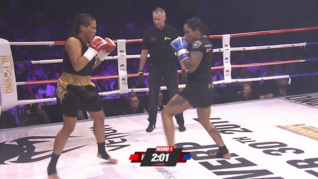 Enfusion #53 Najat Hasnouni Alaoui (MAR) vs Dolly Macbean (NLD) 30.09.2017