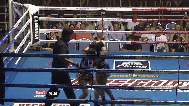 Enfusion  #36  Ling Kwok (CHN) vs Nancy Chonpratankarmai (THA) 06.02.2016