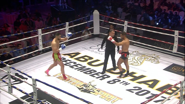 Enfusion #58 Mohamed Khamal (MAR) vs Aziz Kallah (MAR) 08.12.2017