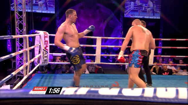 Enfusion  #32  Dexter Suisse (NLD)  vs Brice Guidon (FRA) 10.10.2015