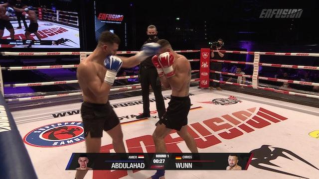 Enfusion #99 Amier Abdulahad (EGY) VS Chriss Wunn (DEU) 17.10.20