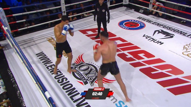 Enfusion #71  Arian Sadkovic (BIH) vs Bilal Loukili (MAR) 29.09.2018
