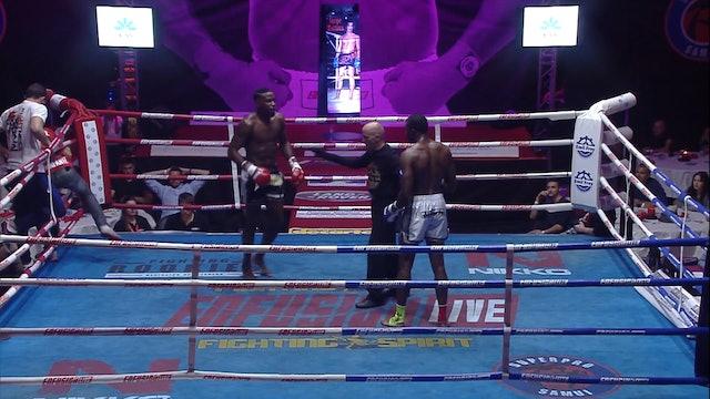 Enfusion  #33   Ulric Bokeme (COG) vs Cheick Sibide (FRA) 07.11.2015