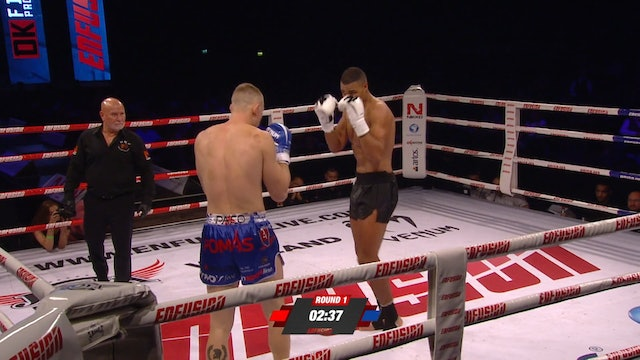 Enfusion #73  Levi Rigters (NLD) vs Martin Pacas (SVK) 27.10.2018