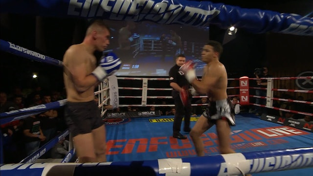 Enfusion  #23  Ilias Bulaid (MAR) vs Zahid Zairov  (UZB)  21.12.2014