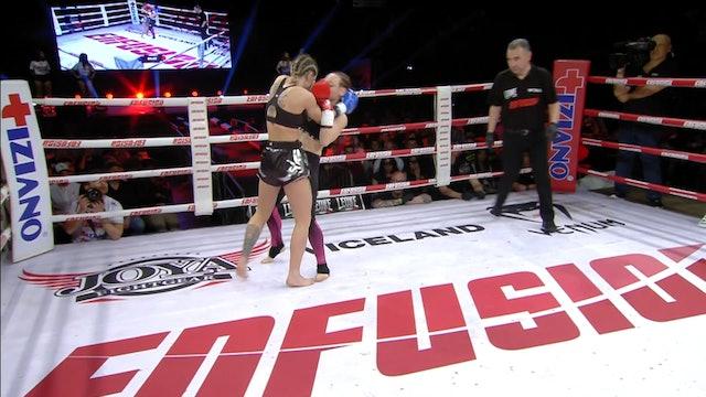 Enfusion #80  Amy Pirnie (GBR) vs Silvia La Notte (ITA) 23.03.2019