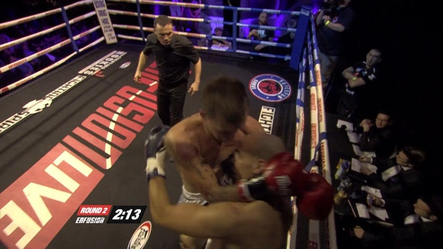 Enfusion  #11  James Gridley(GBR) vs Fahid Marroun (MAR) 01.12.2013