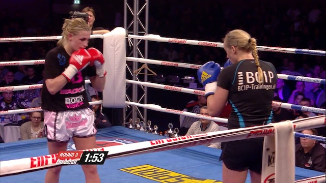 Enfusion  #24 Sheena Widdershoven (NLD) vs Marieke Post (NLD) 07.02.2015