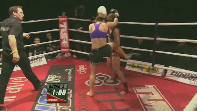 Enfusion Contracted Fighter Iman Barlow Promo