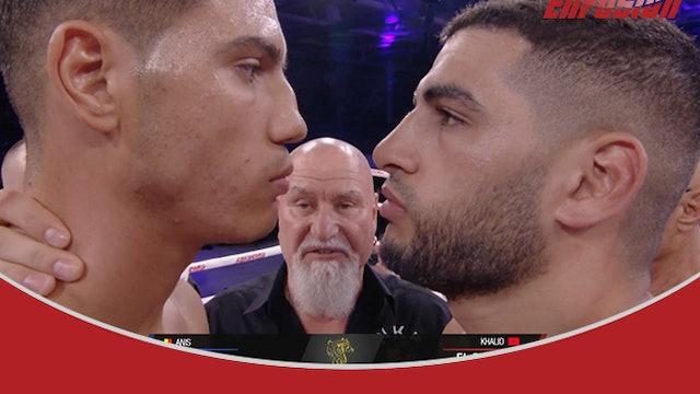 Enfusion #87 Khalid El Bakouri (MAR) vs Anis Bouzid (BEL) 07.09.2019