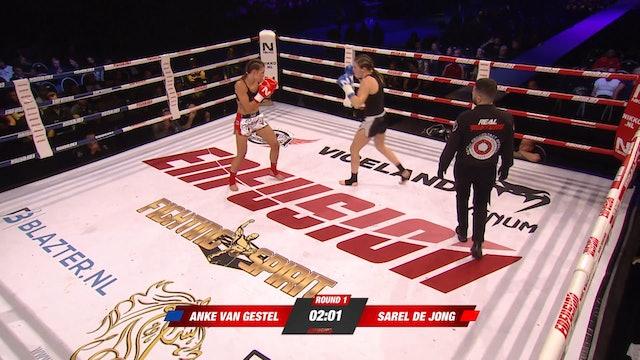 Enfusion #78 Sarel de Jong (NLD) vs Anke van Gestel (BEL) 23.02.2018