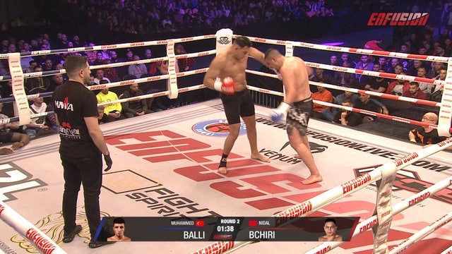 Enfusion #95  Nidal Bchiri (MAR) vs Muhammed Balli (TUR) 29.02.2020