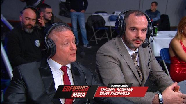ECE #02  Anderson Bueno (BRA) vs Yurii Borychenko (UKR) 10.11.2018