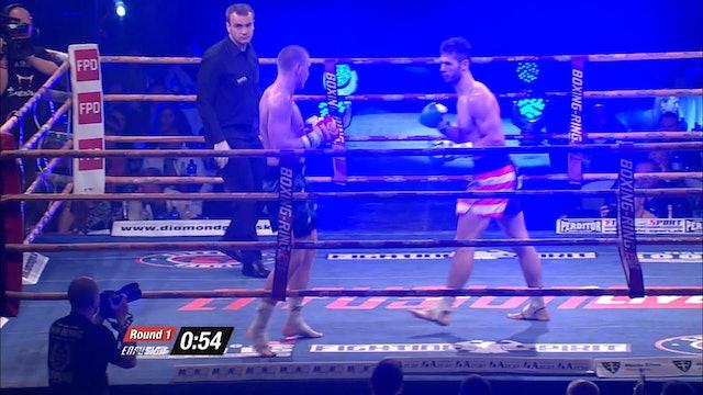 Enfusion  #17 Mirko Cingel (SVK) vs  Andrew Tate (USA) 26.04.2014