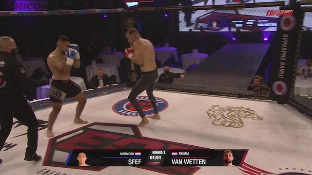 ECE Rookies #03 Mahmoud Sfef (NLD) vs Thomas van Wetten (NLD) 18.09.20