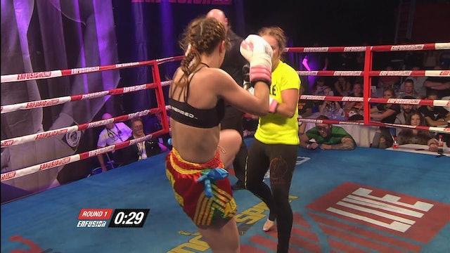 Enfusion #30  Iman Barlow (GBR) vs Samantha van Doorn (NLD)  11.07.2015