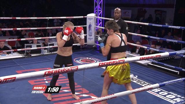 Enfusion #09 lona Wijmans (NLD) vs Nathalie Visschers (BEL) 03.11.2013