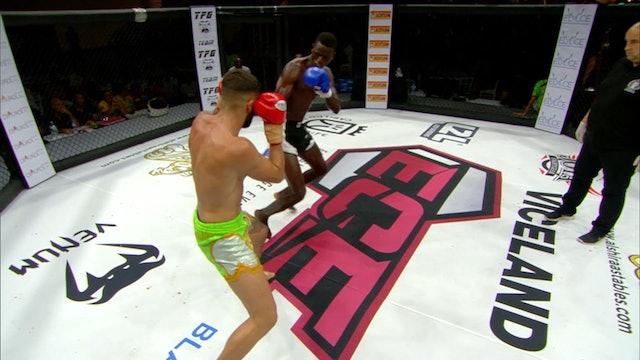 Rookies MMA - Ousmanr Traore (ESP) vs David Garcia (ESP) 06.07.2019