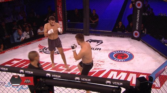 ECE #01, Ilias Boukyoua (MAR) vs Cenk Cankurtanarogly (TUR) 13.10.2018