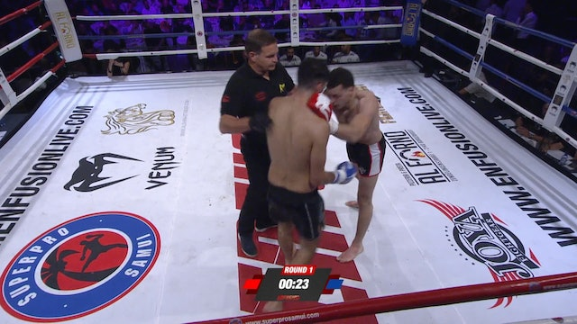 Enfusion#70 Ilias Bulaid (MAR) vs Youssef El Haji (MAR) 15.09.2018