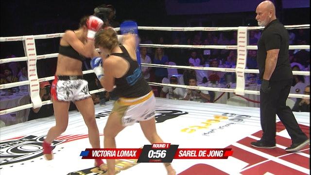 Enfusion #76 Sarel De Jong (NLD) vs Victoria Lomax (ESP) 07.12.2018