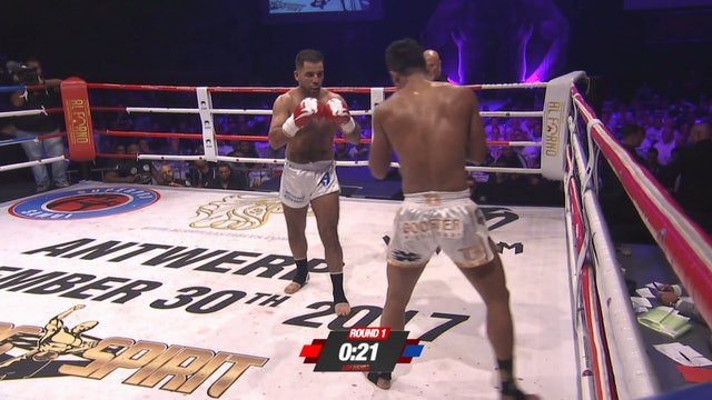 Enfusion #53 Mohamed Khamal (MAR) vs Superbon Banchamek (THA) 30.09.2017