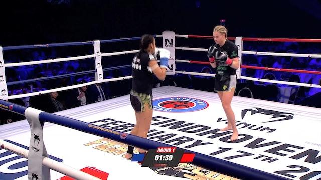 Enfusion #61 Sheena Widdershoven (NLD) vs Djamara Vers (SUR) 17.02.2018