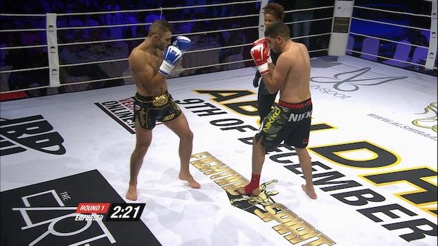 Enfusion  #45 Boubaker El Bakouri (MAR) vsRustam Guseinov (RUS) 09.12.2016