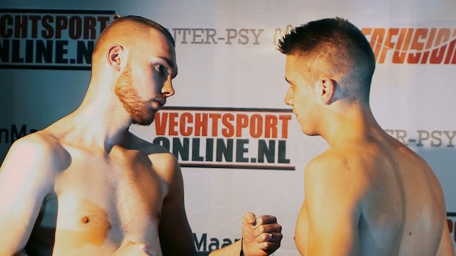 Enfusion Live #34 Groningen, The Netherlands 20.11.2015 Weight-ins