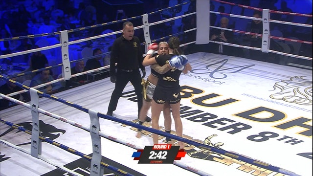 Enfusion #59 Orinta Van der Zee (NLD) vs Nora Cornolle (FRA) 08.12.2017