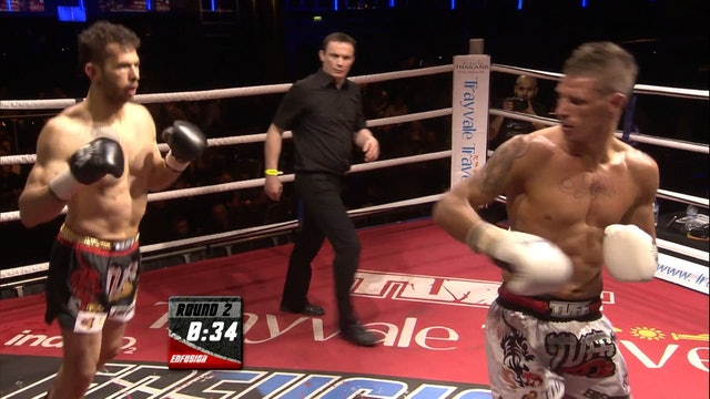 Enfusion #03 Andrew Tate (USA) vs Marino Schouten (NLD) 30.03.2013