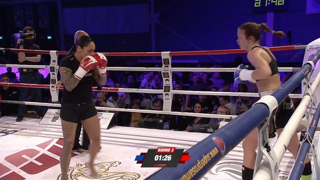 Enfusion #64 Dolly Macbean (NLD) vs Johanna Kruse (DEU) 21.04.2018