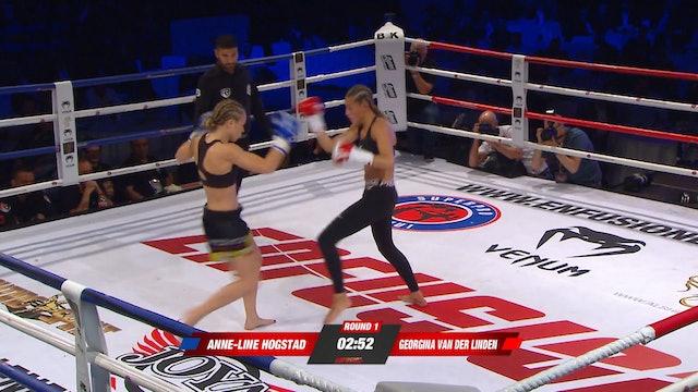 Enfusion #71 Georgina van der Linden (NLD) vs Anne-Line Hogstad (NOR) 20.09.2018