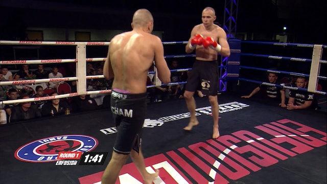 Enfusion  #16  Hicham El Gaoui (MAR) vs Andri Panov (UKR) 05.04.2014