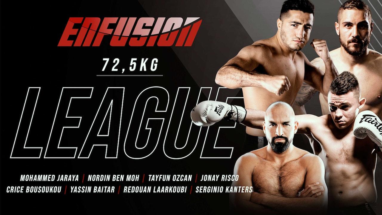 Enfusion League 72.5 kilo tournament