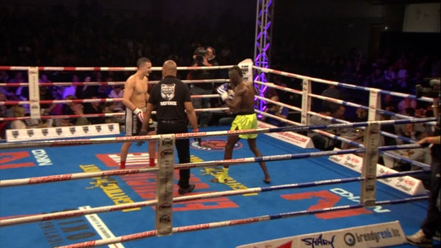 Enfusion  #25 Youssef Challouki (BEL) vs Sidy Barry (FRA) 14.03.2015