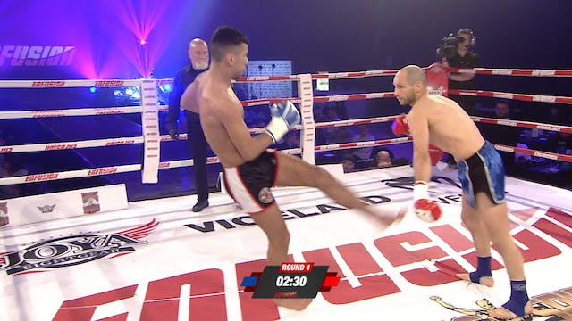Enfusion #84 Hamza Essalih (MAR) vs A...