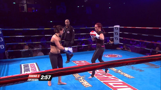 Enfusion #38  Samantha Van Doorn (NLD) vs Lorena Klijn (NLD) 02.04.2016
