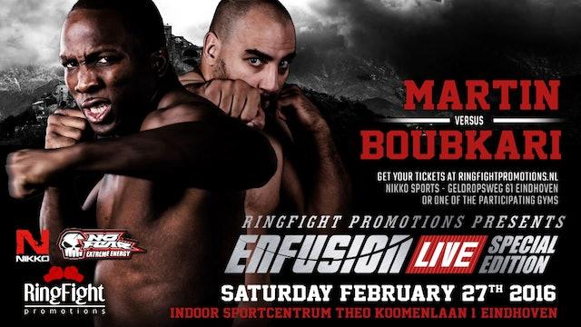 Enfusion #37 Eindhoven, The Netherlands 27.02. 2016 Mohamed Boubkari (MAR) Promo