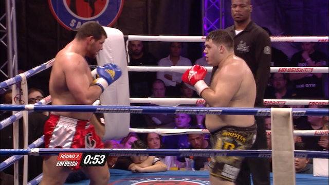 Enfusion  #24 Ismael Lazaar (MAR) vs Thomas Vanneste (BEL) 07.02.2015