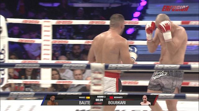 Enfusion #89  Moises Baute (ESP) vs Mohamed Boubkari (MAR) 26.10.2019