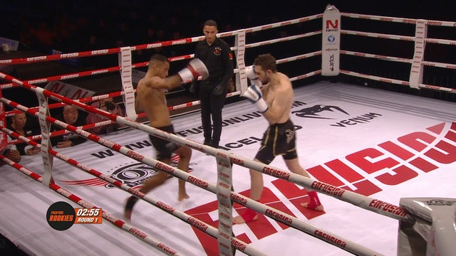 Rookies - Khalil Kutukcu (NLD) vs Jonus Kilicoscan (GER) 26.10.2018