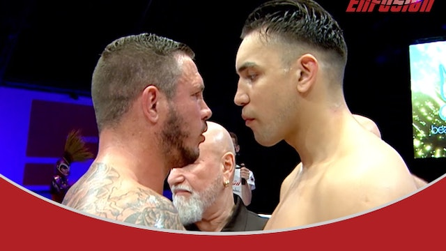 Enfusion #92 Fred Sikking (NLD) vs Nidal Bchiri (MAR) 06.12.2019