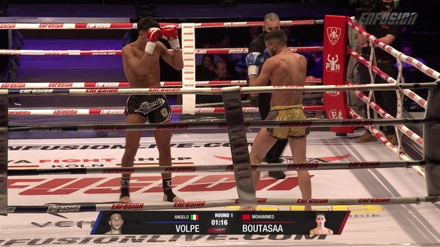 Enfusion #99 Angelo Volpe (ITA) VS Mohammed Boutasaa (MAR) 17.10.20