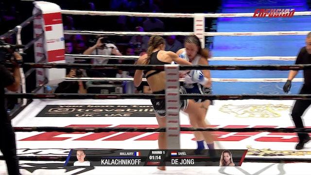 Enfusion #93 Mallaury Kalchnikoff (FRA) vs Sarel de Jong (NLD) 06.12.2019